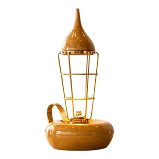 Italian Mid-Century Modern Table Lamp by Aldo Tura for Aldo Tura Milano, C. 1950s For Sale