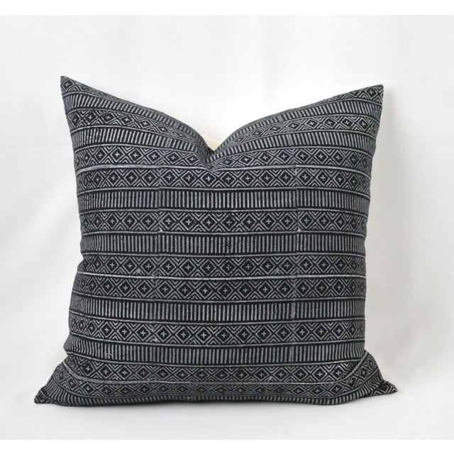 Vintage Geometric Patterned Pillow For Sale - Image 12 of 12
