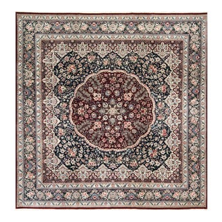 Traditional Hand Woven Rug - 10' X 10' For Sale