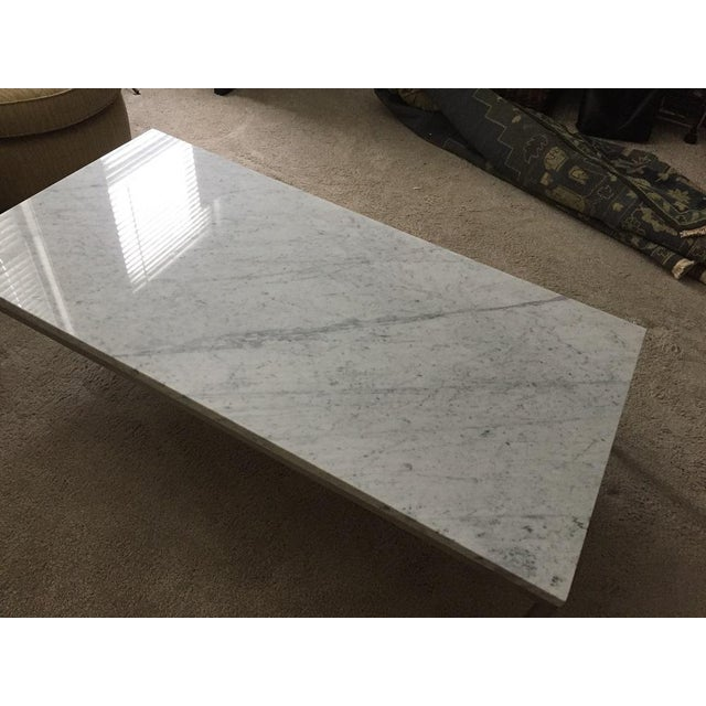 Room & Board Portica Custom Marble Coffee Table - Image 9 of 10