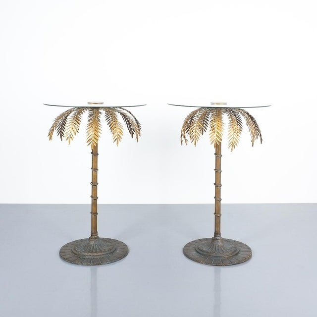 1960s Iron Centre or Side Tables Style Maison Charles, Circa 1955 For Sale - Image 5 of 11
