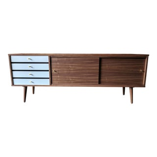 Mid Century Style Custom Credenza For Sale