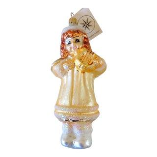 Christopher Radko Angel Christmas Ornament