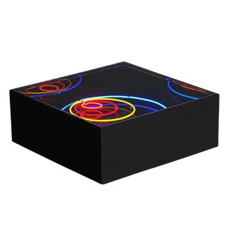1976 Neon Sculpture Cocktail Table by Rudi Stern for Let There Be Neon For Sale
