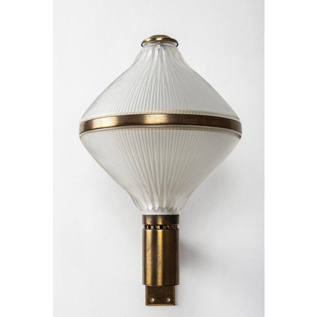 1960s Large 1960s Studio B.B.P.R Brass Sconce For Sale - Image 5 of 13