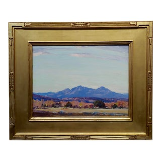 Carl Oscar Borg Early California Impressionist Ojay Valley Landscape-Oil Painting For Sale