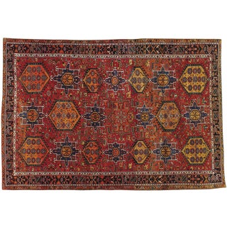 "Antique Persian Karajeh Rug - 8'5"" X 12'5"""