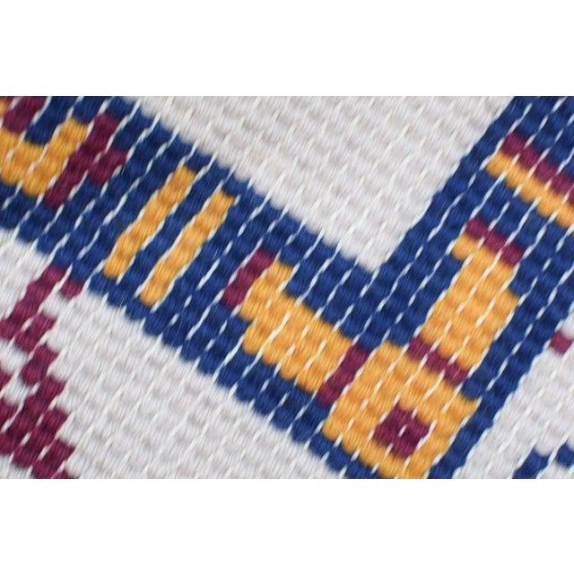 Boho Chic Handmade Vintage Rug For Sale - Image 3 of 10
