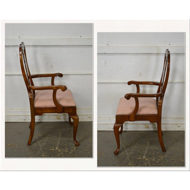 Queen Anne Pennsylvania House Traditional Style Cherry Dining Chairs Set Of 6 For