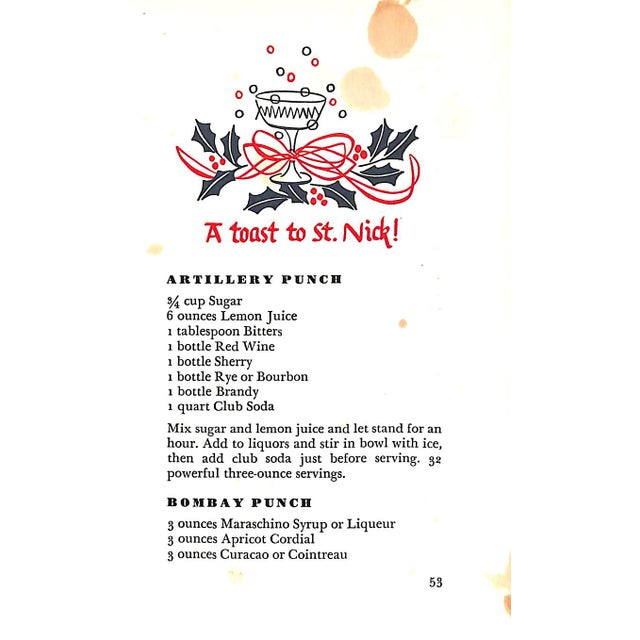 The Merrie Christmas Drink Book For Sale - Image 4 of 6