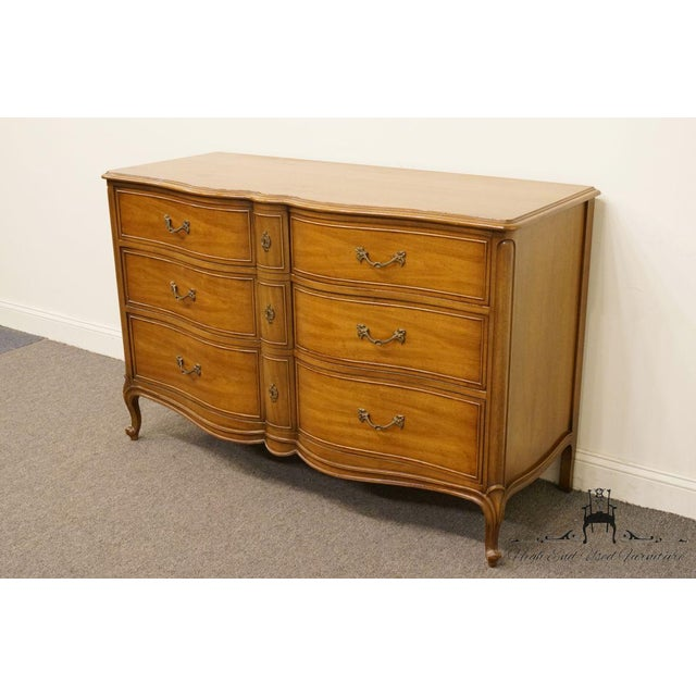 "Drexel Heritage 20th Century Traditional Drexel Bordeaux Collection 54"" Double Dresser For Sale - Image 4 of 13"