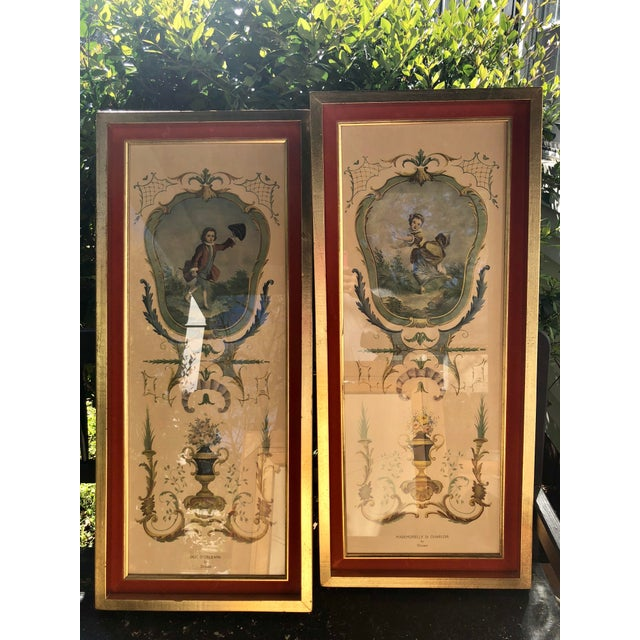 Neoclassical Framed Lithograph Prints - a Pair For Sale - Image 11 of 12