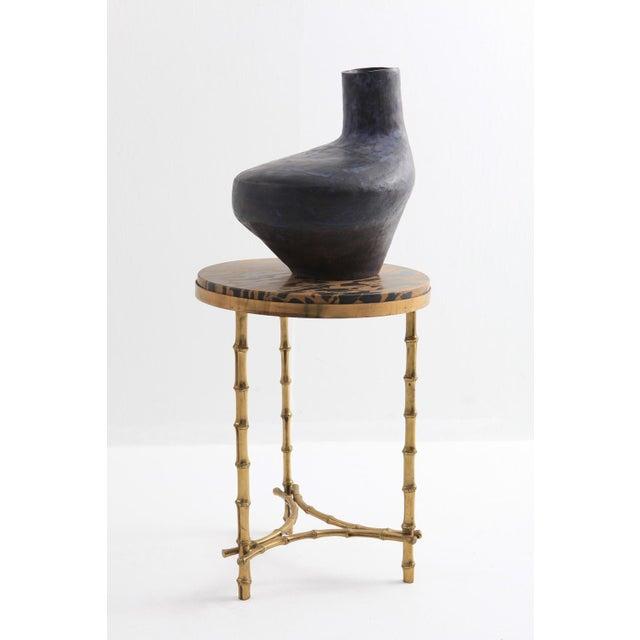 Mid-Century Modern Italian Ceramic Vase For Sale - Image 9 of 11