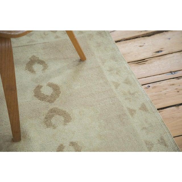 """Textile Vintage Oushak Rug Runner - 2'5"""" X 7'9"""" For Sale - Image 7 of 7"""