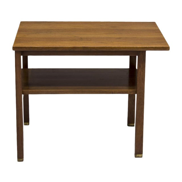 Edward Wormley for Dunbar 2 Tier Lamp Table - Image 2 of 6