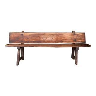 18th Century Portuguese Bench For Sale