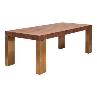 Debra Dining Table, Walnut For Sale