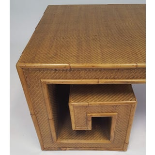 Vintage Century Furniture Rattan Coffee Table Preview
