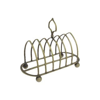 Silver-Plate Toast Rack For Sale