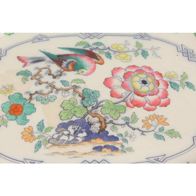 Victorian 19th Century Ironstone Platter For Sale - Image 3 of 12