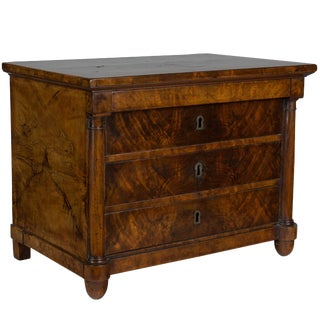 19th Century French Empire Miniature Commode For Sale