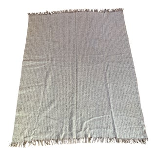 Vintage Avoca Handweavers Pure Irish Wool Blanket For Sale