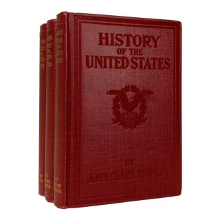 Ridpath's History of the United States Antique Books - Set of 4 For Sale