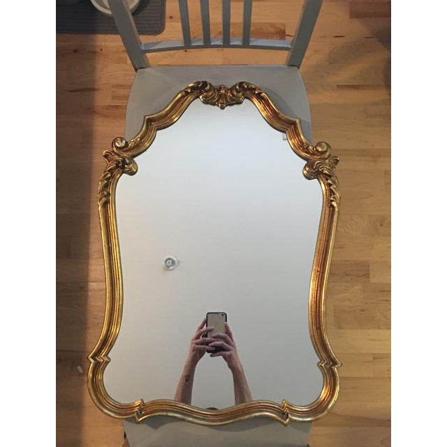 Gilded French Baroque Mirror - Image 3 of 8