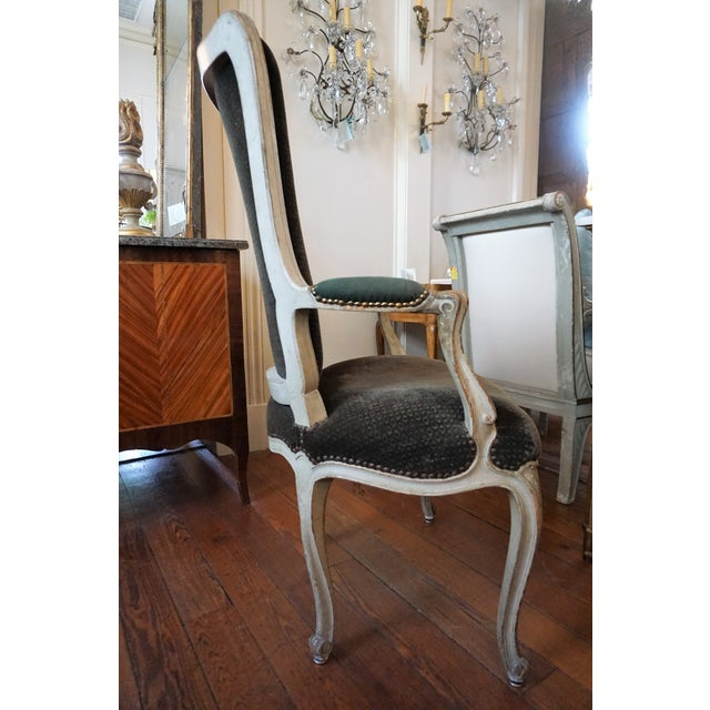 Louis XV Set of Six Dining Chairs For Sale - Image 3 of 10