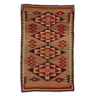 Exceptional Red Mesa Navajo Rug Circa 1930s