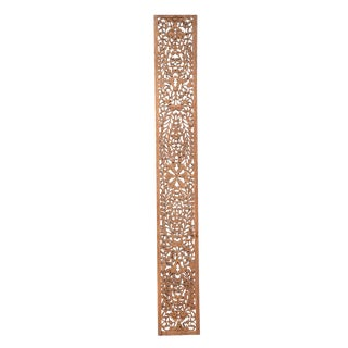 See-Through Floral Fretwork Panel For Sale