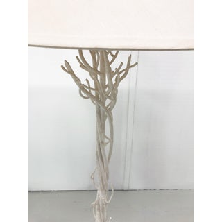 Faux Bois Metal Floor Lamps - a Pair Preview