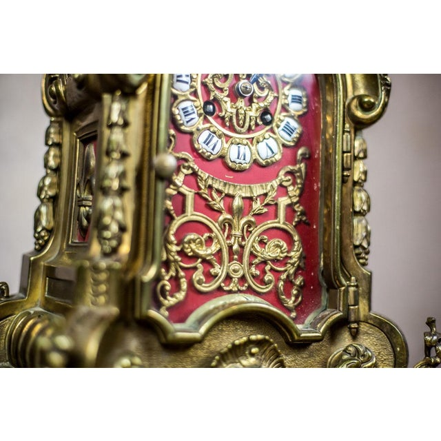 French Mantel Clock, circa 19th Century For Sale - Image 9 of 11