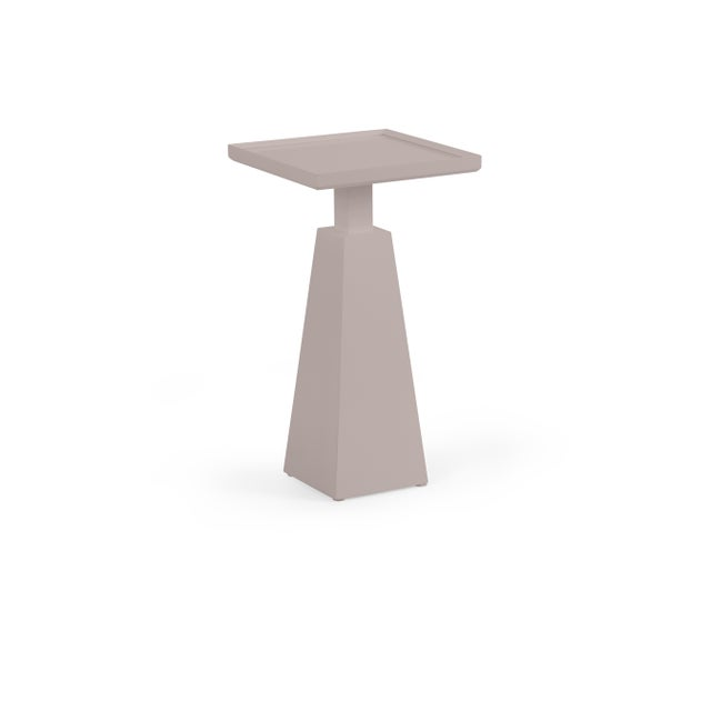 Transitional Casa Cosima Hayes Spot Table, Elephant Gray For Sale - Image 3 of 3