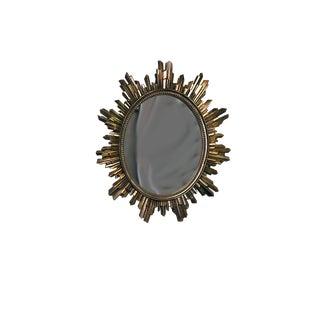 1960s Syroco Sunburst Mirror For Sale
