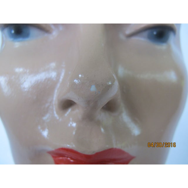 Vintage Female Mannequin Head - Image 5 of 7