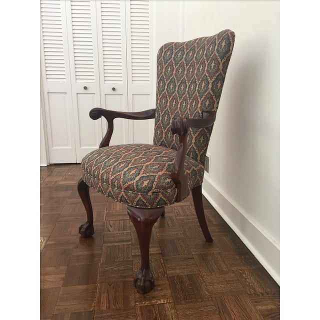 Colonial Reproduction Ball Claw Style Chair - Image 3 of 6