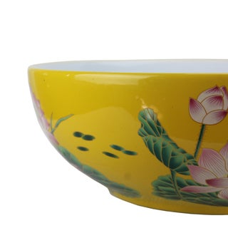 Pasargad DC Modern Yellow/Green Motif Sink Bowl Preview
