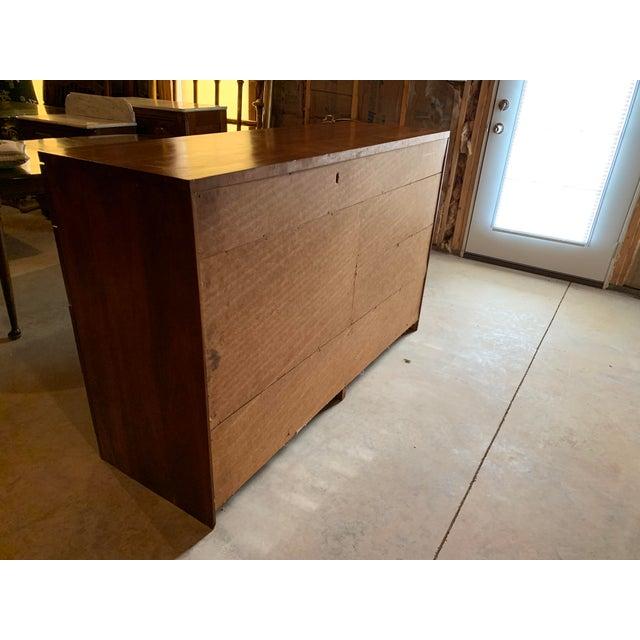 Mid-Century Modern 20th Century Cherry Eight Drawer Dresser For Sale - Image 3 of 6