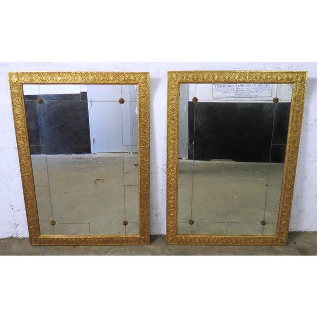 Mirror Fair New York Empire Mirrors - a Pair - Image 2 of 10