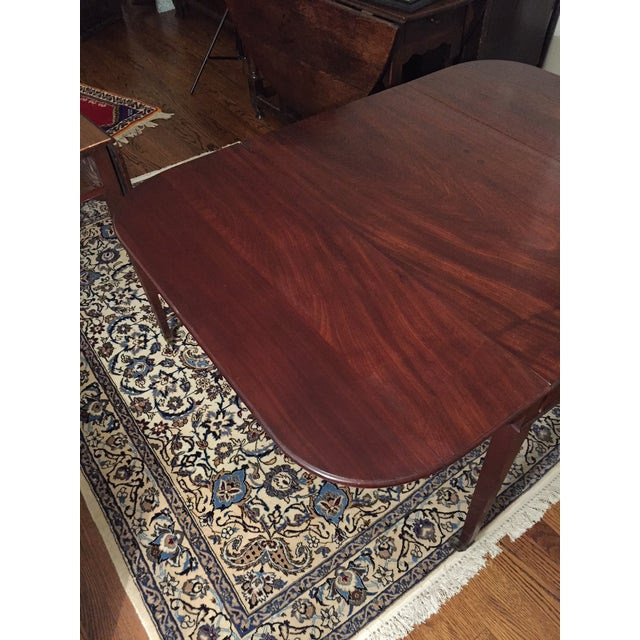 Early 19th Century Early 19th Century Mahogany Pembroke Table For Sale - Image 5 of 13