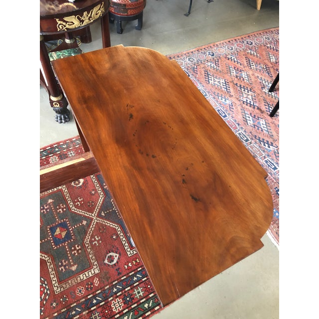 Brown 1780 Hepplewhite Inlayed Mahogany Game Table For Sale - Image 8 of 13
