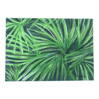 "Nancy Smith ""Crisscross"" Original Pastel Botanical Painting For Sale"