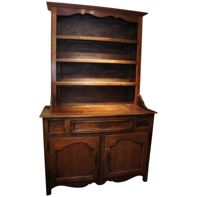18th Century Antique French Walnut Hutch - Image 1 of 5