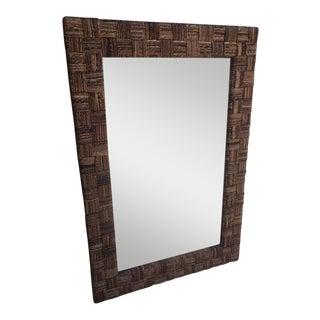 Woven Frame Mirror
