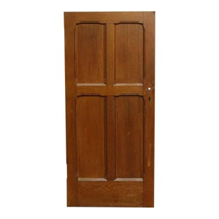 Four Panel Cherry Salvaged Door