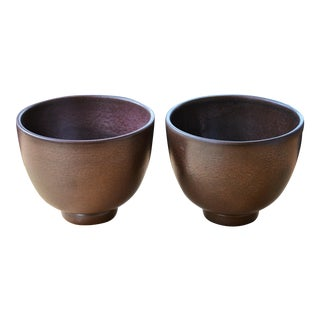 Mid-Century Modern Royal Haeger Pots - a Pair For Sale