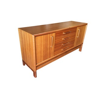 Modernist Walnut Buffet/Credenza by John Keal for Brown Saltman For Sale