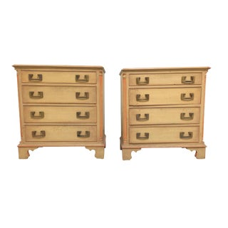 Mid-20th Century Kittinger Chests of Drawers - a Pair