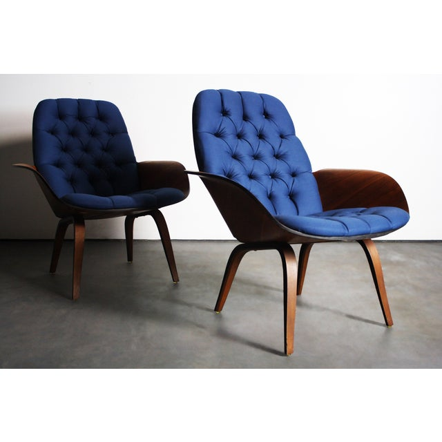 George Mulhauser for Plycraft Lounge Chairs - Pair - Image 2 of 11